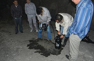 甘肃省平凉至武都高速公路成县至武都段公路工程隧道地基检测