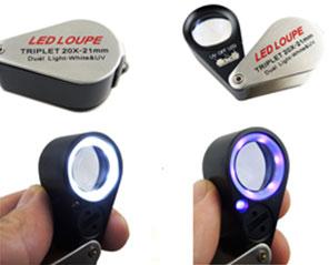 LED光源放大镜