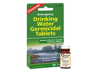 瓶装净水药片