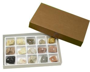 进口标本--沉积岩标本(15种)