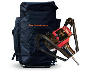 美国绍尔单人背包式(浅层取样)岩芯钻机