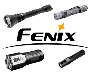 Fenix强光手电系列