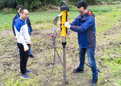 犀牛HPD液压取土钻机15米土壤采样
