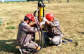 犀牛HPD液压土壤采样钻陕西交付使用