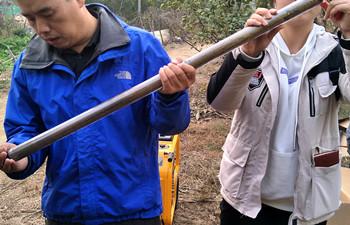 犀牛HPD土壤采样钻西藏交付使用